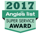 Knight Heating and Air Conditioning, Inc., winner of the 2017 Angie's list super service award for out Air Conditioner repair.
